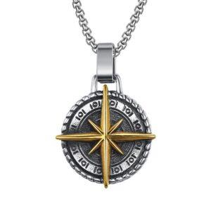 Men's Voyager Cross Pendant