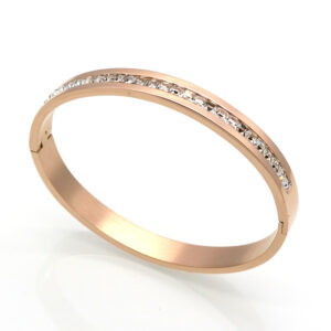 Square Diamond Full Rhinestone Bracelet