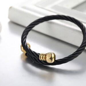Steel Wire Rope Bracelet