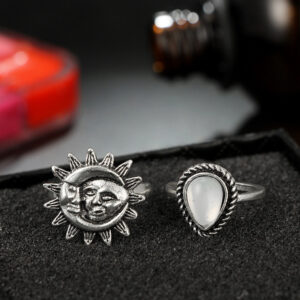 Zoaokong Carved Set Ring