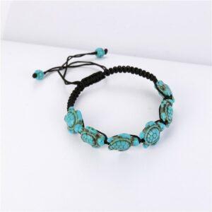 Bohemian tortoise adjustable bracelet wristband