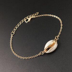 Exquisite alloy plating drip glaze shell bracelet women