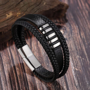 New Multi-layer Leather Bracelet