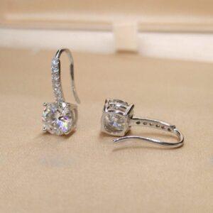 Super sparkle Zircon Earrings