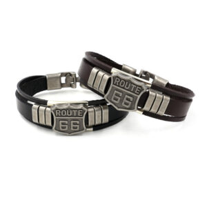 66 Leather Bracelet
