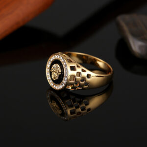 Fast selling Wish exploits jewelry, European and American lion's head ring a large number of spot ring wholesale men's rings