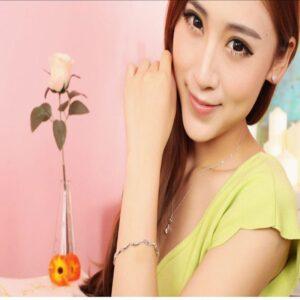925 Sterling Silver Bracelet Korean Jewelry Sterling Silver Bracelet