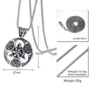 Vintage Concentric Necklace