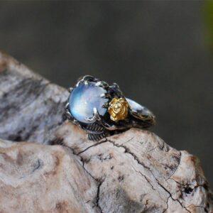 Color separation tree leaf ring