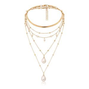 Multi-element Pearl Necklace