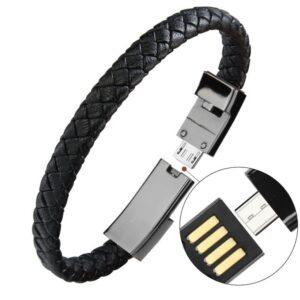 USB Cable Bracelet