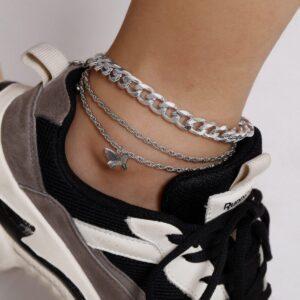 Creative Twist Chain Temperament Simple Footwear