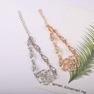 Bracelet Diamond-Studded Camellia Temperament All-Match Bracelet Bracelet