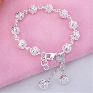 Hollow exquisite ball bracelet