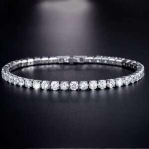 Row Drilled Zircon Bracelet