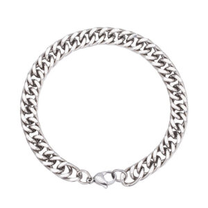 Hip Hop Rock Punk Titanium Steel Chain Bracelet
