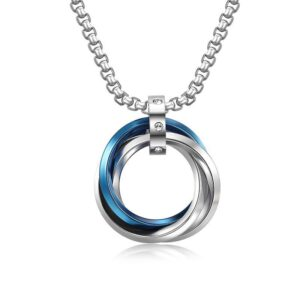 Hip Hop Titanium Steel Necklace
