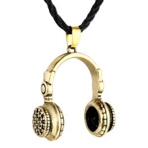 Men's Slavic Punk Necklace Accessories Earphone Necklace