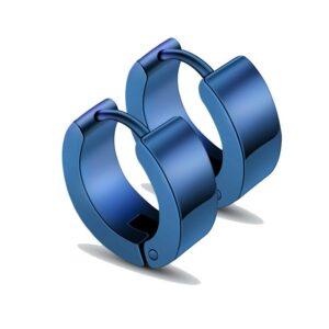Titanium Steel Men's Street Single Trendy Male Ear Clip